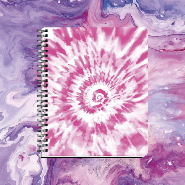 Cuaderno DYE Spiral Pink - Space Store Chile