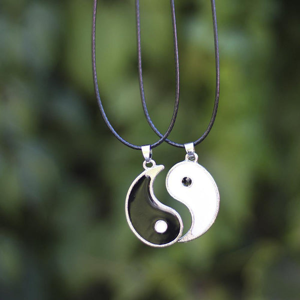 Collar doble Ying & Yang