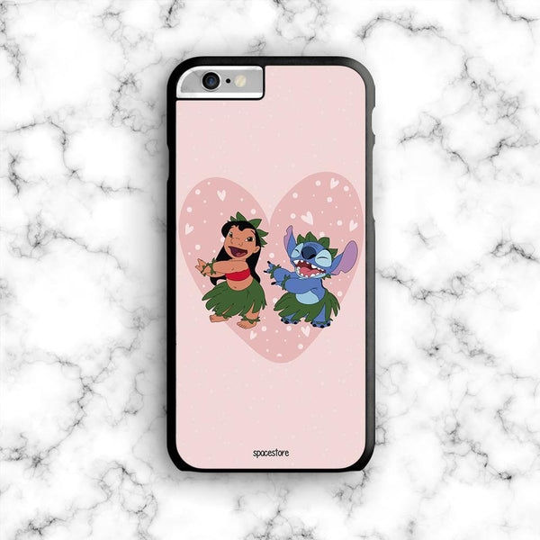 Carcasa Lilo & Stitch Heart - Space Store Chile