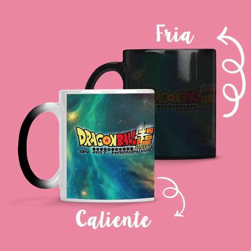 Taza Cambia Color DBZ Model 1 - Space Store Chile