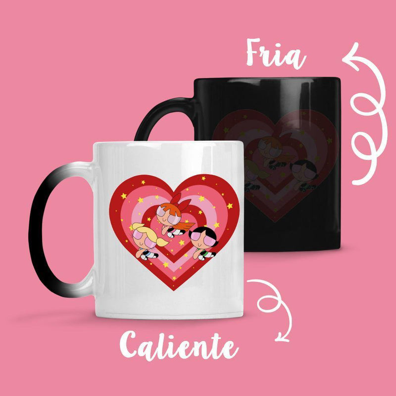 Taza Cambia Color Chicas Super Poderosas - Space Store Chile