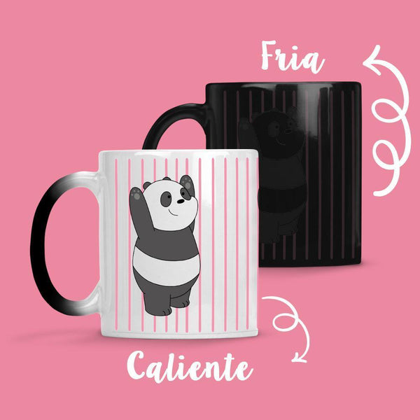 Taza Cambia Color Panda