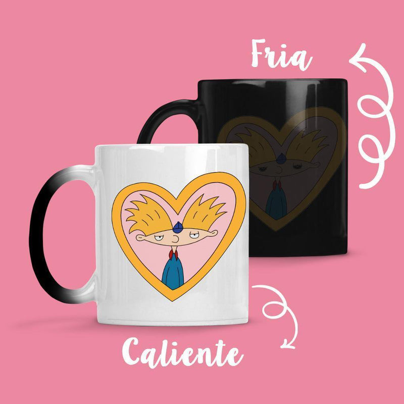Taza Cambia Color Hey Arnol - Space Store Chile