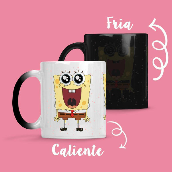 Taza Cambia Color Bob Smile - Space Store Chile