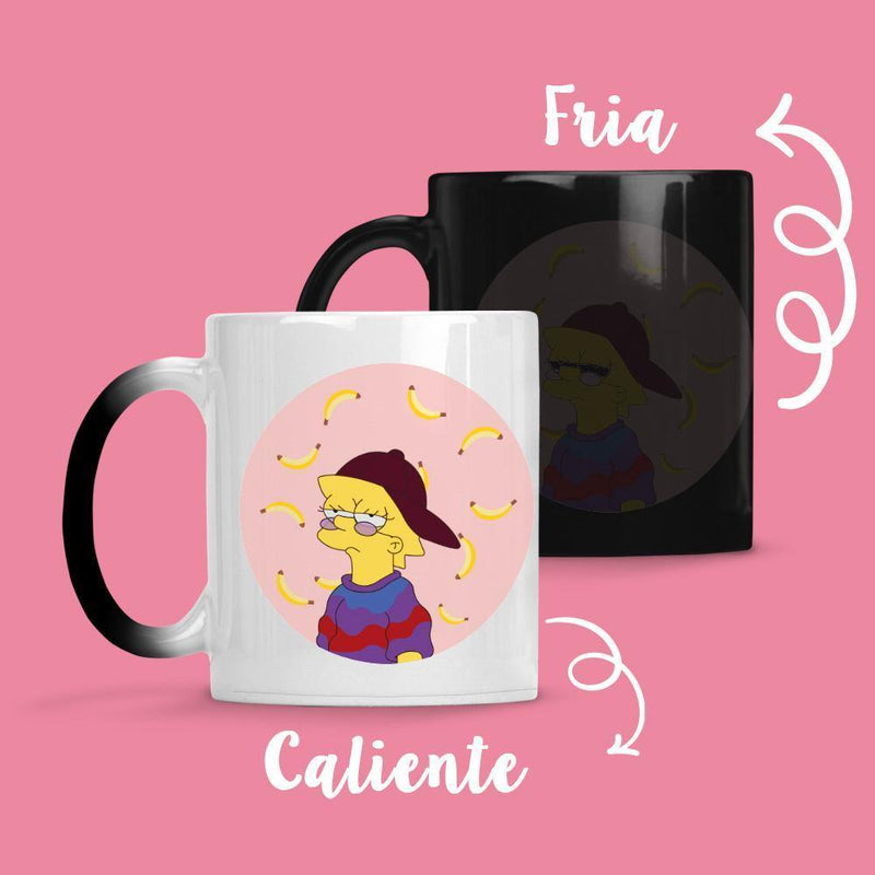 Taza Cambia Color Lisa Bananas - Space Store Chile