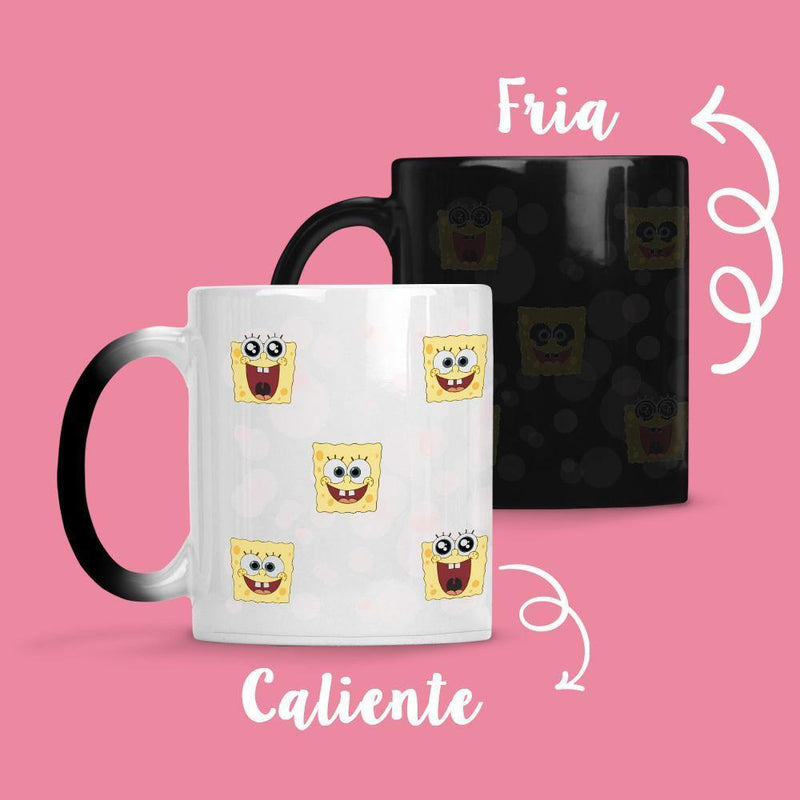 Taza Cambia Color Bob Caras - Space Store Chile