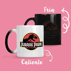 Taza Cambia Color Jurasic Park - Space Store Chile