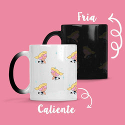 Taza Cambia Color Burbuja Model 2 - Space Store Chile