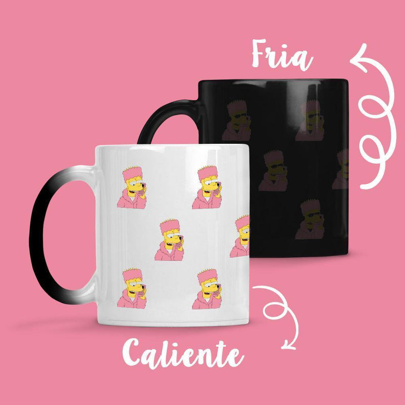 Taza Cambia Color Bart Model 2 - Space Store Chile