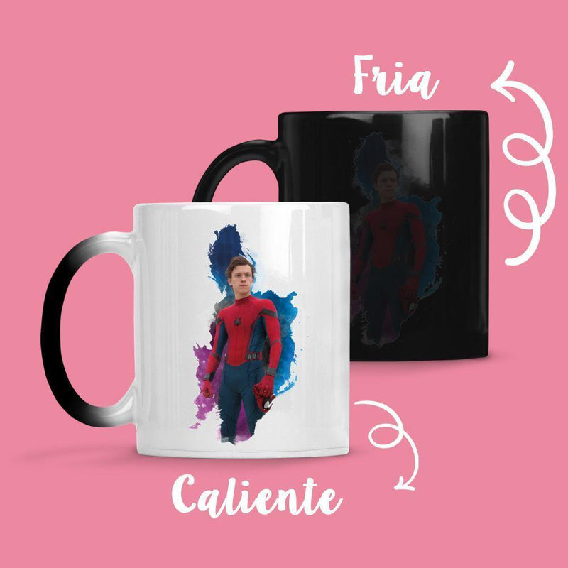 Taza Cambia Color Spiderman - Space Store Chile