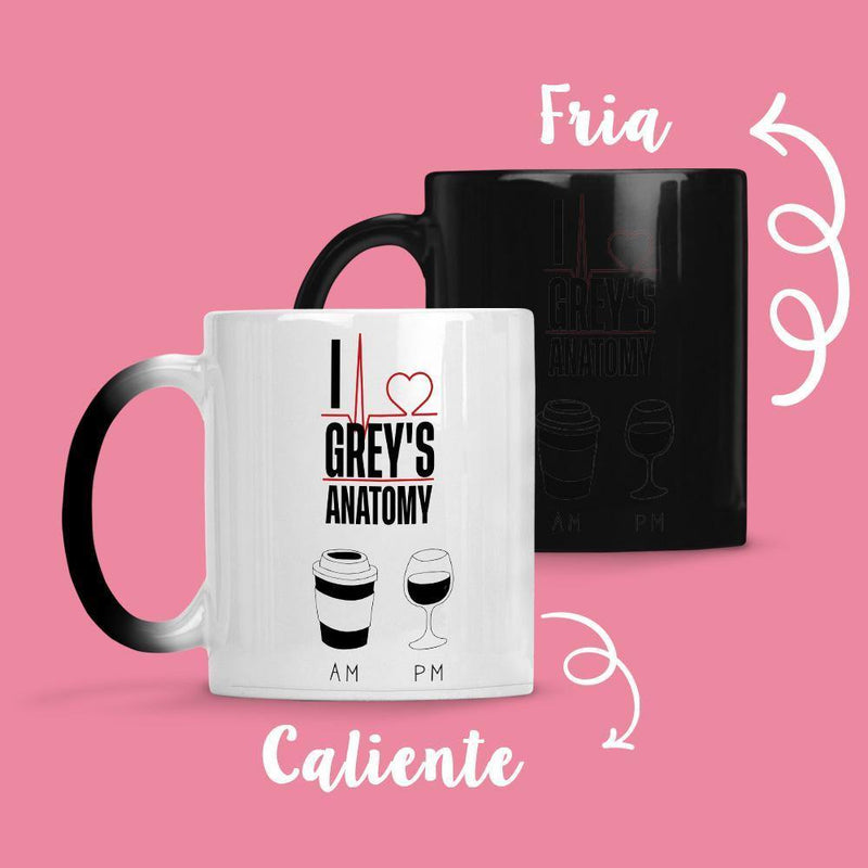 Taza Cambia Color Greys Anatomy AM-PM