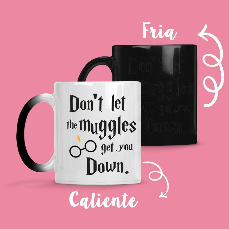 Taza Cambia Color Harry Potter