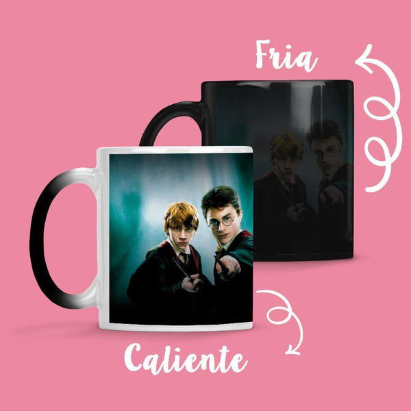 Taza Cambia Color Harry Potter Model 1 - Space Store Chile
