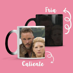 Taza Cambia Color Ragnar & Lagertha