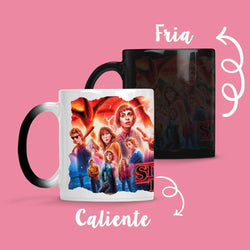 Taza Cambia Color Stranger Things - Space Store Chile