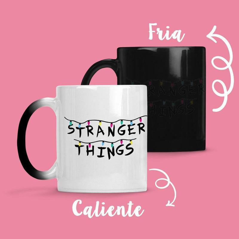 Taza Cambia Color Stranger Things Model 3 - Space Store Chile