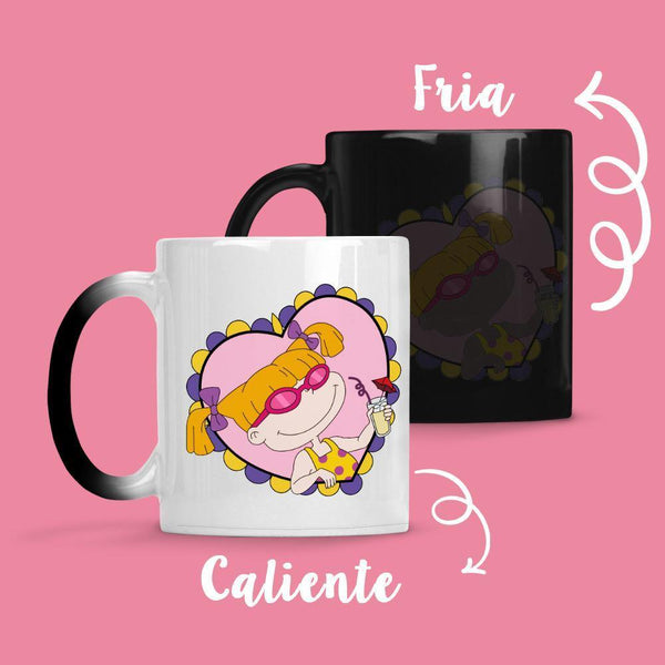 Taza Cambia Color Angelica Sun - Space Store Chile