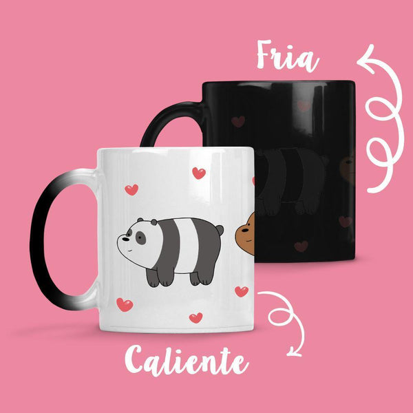 Taza Cambia Color Osos Escandaloso 4 - Space Store Chile