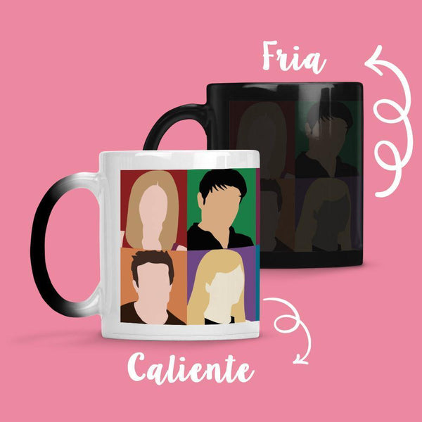 Taza Cambia Color Friends Model 1 - Space Store Chile