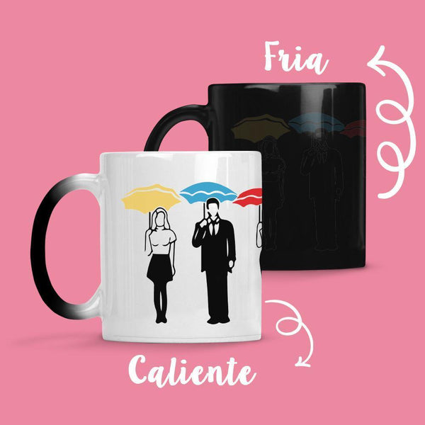 Taza Cambia Color Friends Model 3 - Space Store Chile
