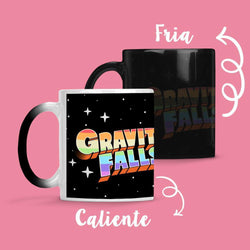 Taza Cambia Color Gravity Falls 2 - Space Store Chile