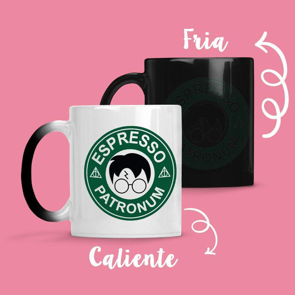 Taza Cambia Color Harry Potter Coffe - Space Store Chile