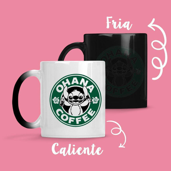 Taza Cambia Color Stitch Coffe - Space Store Chile