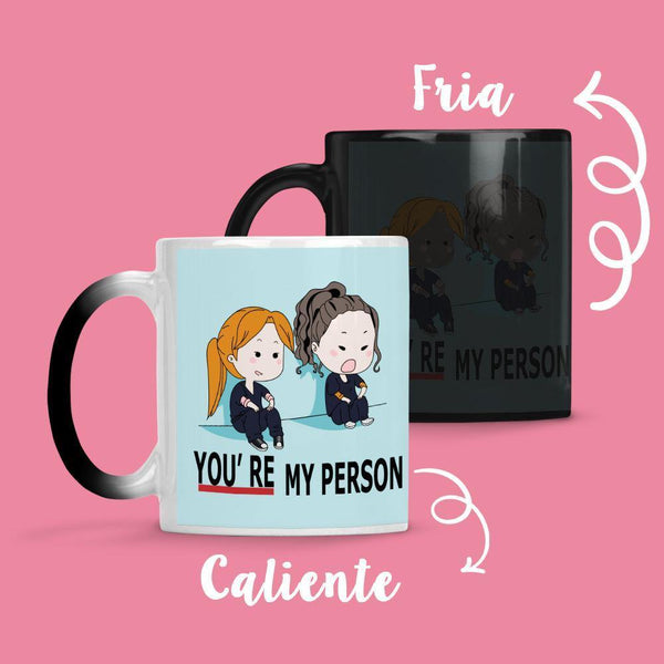 Taza Cambia Color Greys Anatomy Blue - Space Store Chile