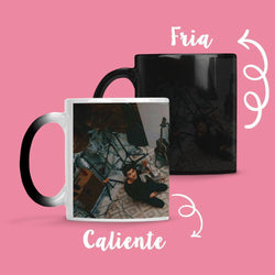 Taza Cambia Color One Direction - Space Store Chile