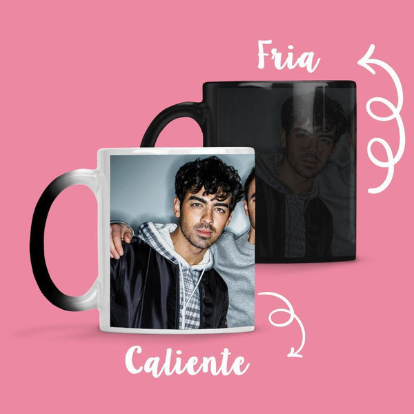 Taza Cambia Color Jonas Brothers - Space Store Chile