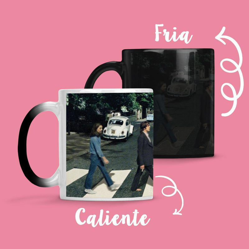 Taza Cambia Color The Beattles