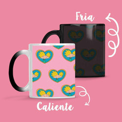 Taza Cambia Color Hey Arnold Pink - Space Store Chile