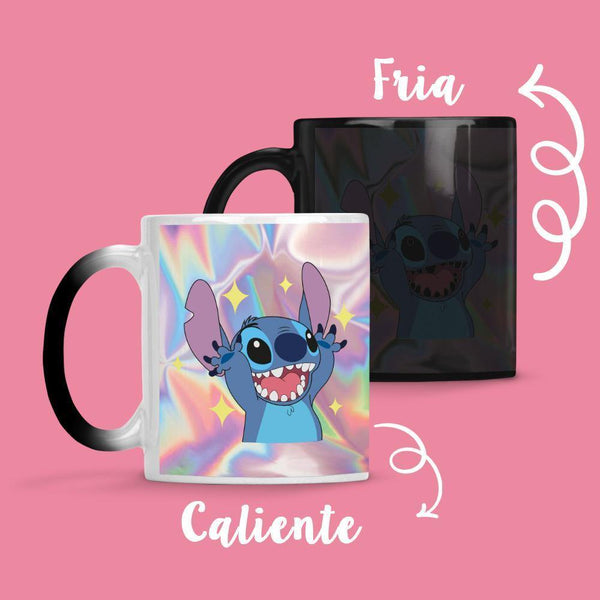 Taza Cambia Color Stitch - Space Store Chile