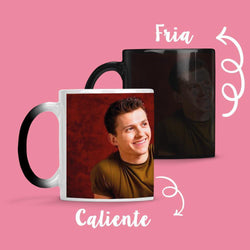 Taza Cambia Color Tom Holland 3 - Space Store Chile