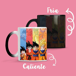 Taza Cambia Color DBZ1 - Space Store Chile
