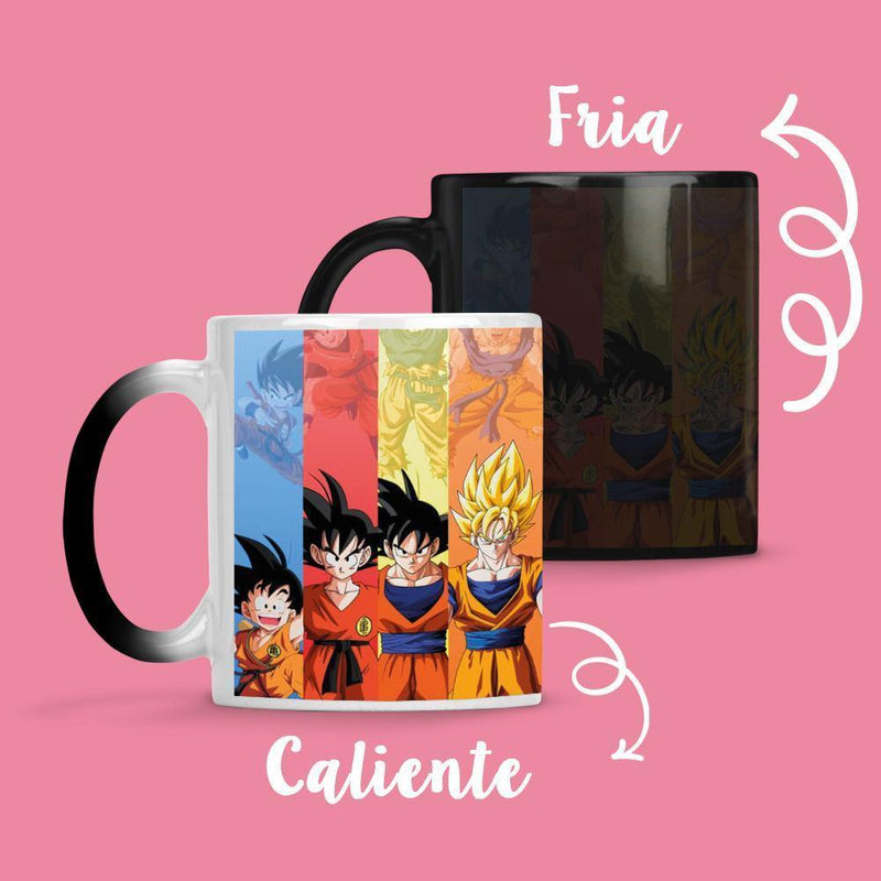 Taza Cambia Color DBZ1