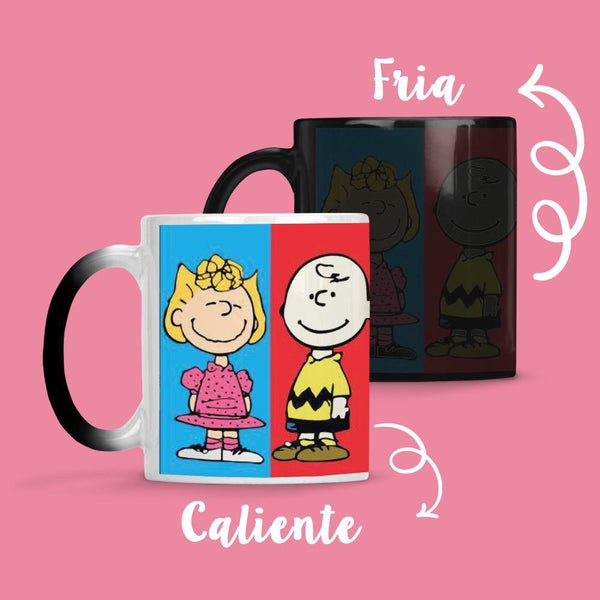Taza Cambia Color Snoopy 2
