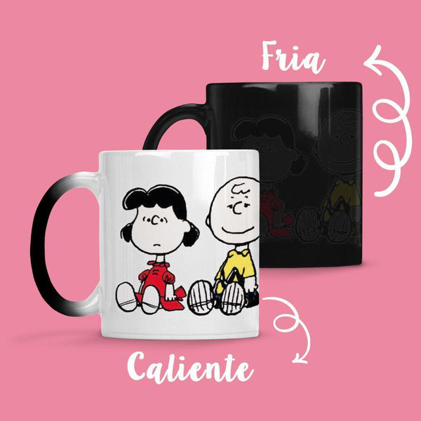 Taza Cambia Color Snoopy 1