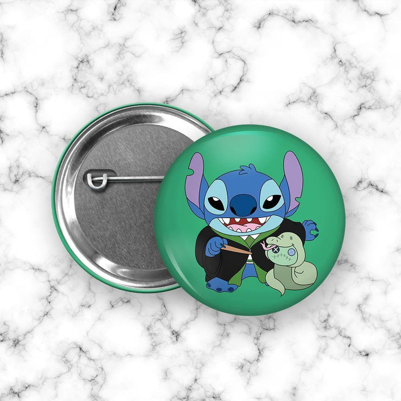 Chapita Stitch Slytherin - Space Store Chile