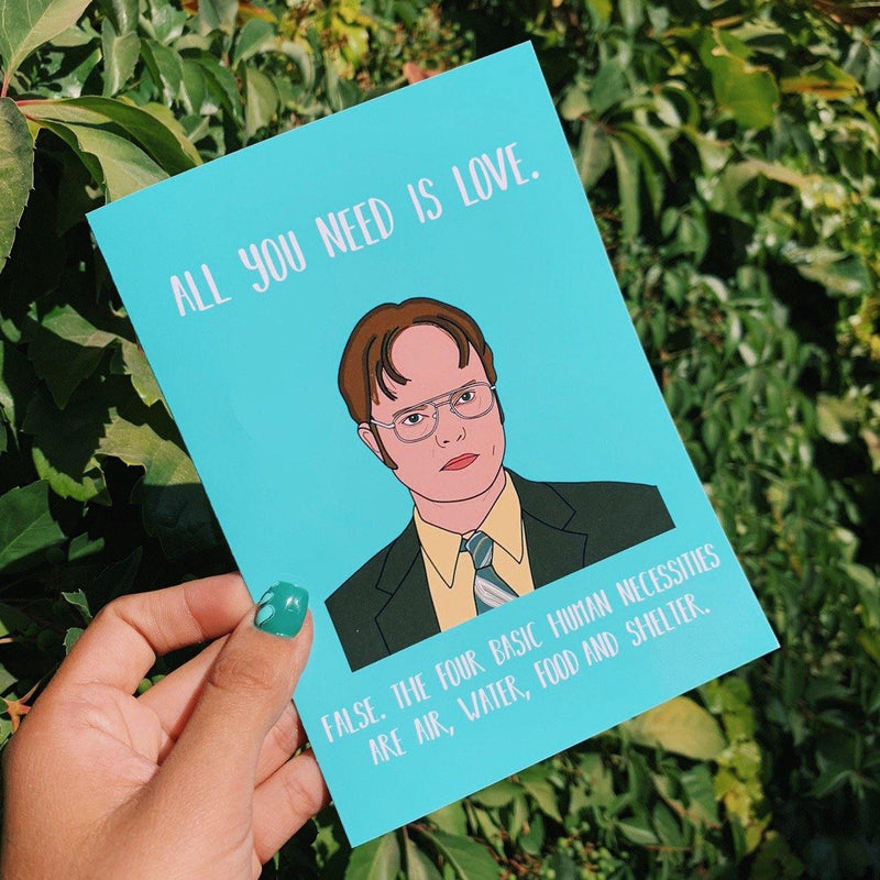 Tarjeta The Office Dwight