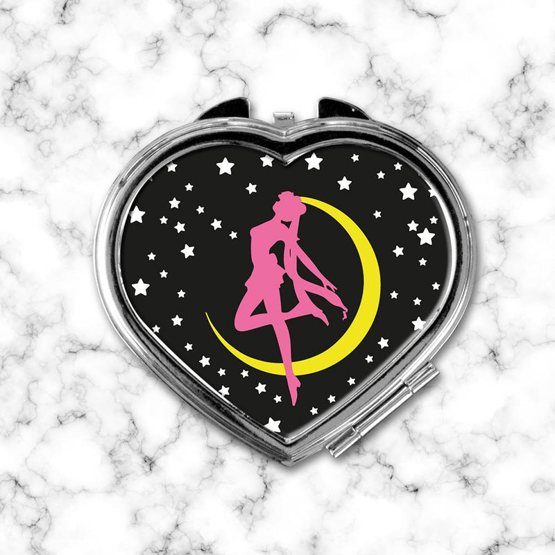 Espejo Corazon Sailor Moon Black - Space Store Chile