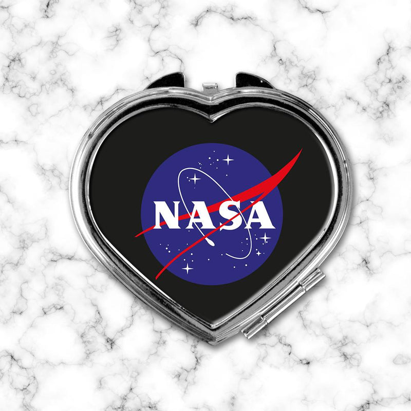 Espejo Corazon Nasa Black - Space Store Chile