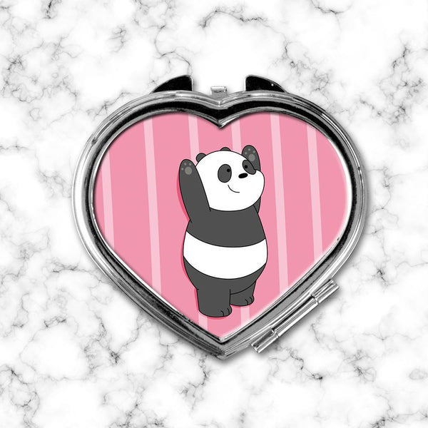 Espejo Corazon Panda We Bare Bears