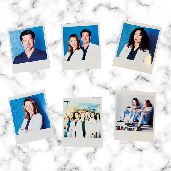 Polaroid de Greys Anatomy