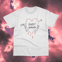 Polera Harry Styles Heart - Space Store Chile
