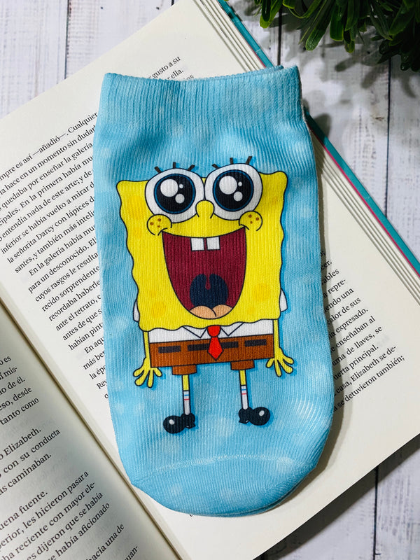Socks Bob Esponja - Space Store Chile