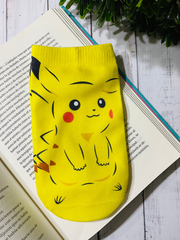 Socks Pikachu Silueta - Space Store Chile