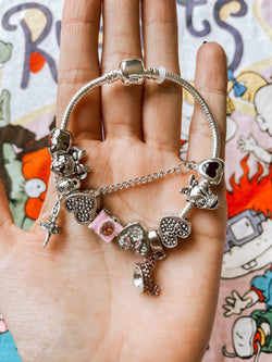 Bracelet Mickey & Minnie Glitter