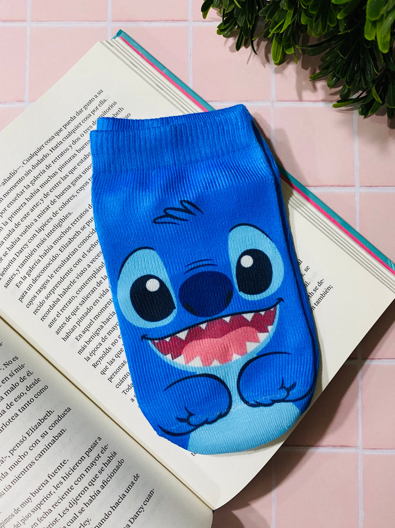 Socks Stitch Blue - Space Store Chile