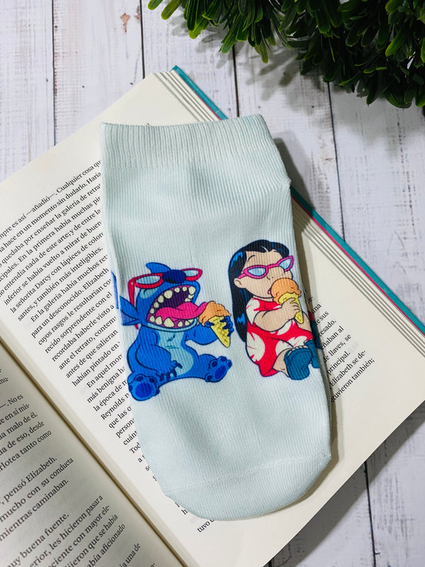 Socks Lilo & Stitch Ice Cream - Space Store Chile
